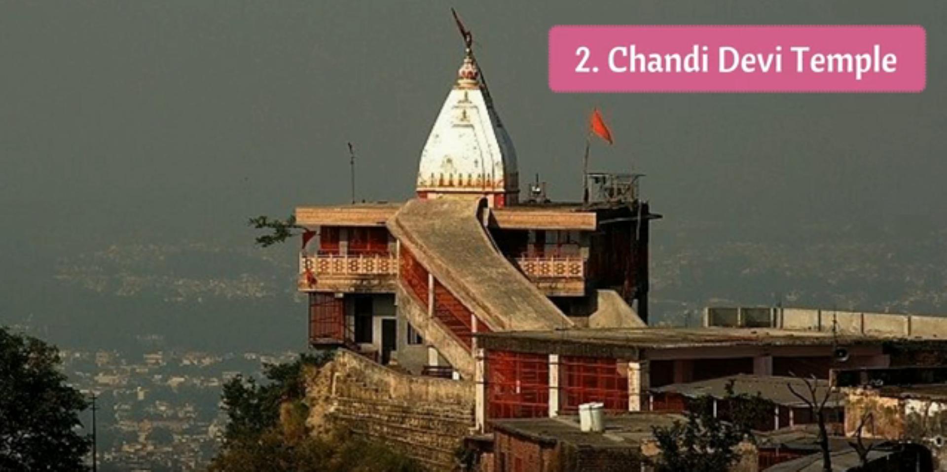 Chandi Devi Temple tour by tempo traveller