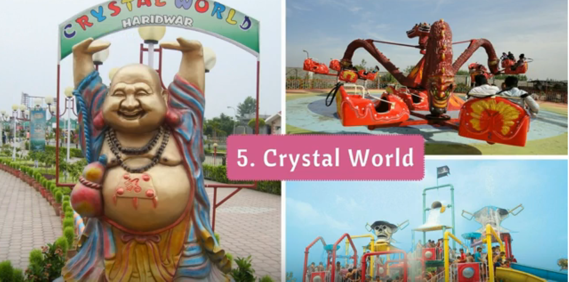 Crystal World tour by tempo traveller