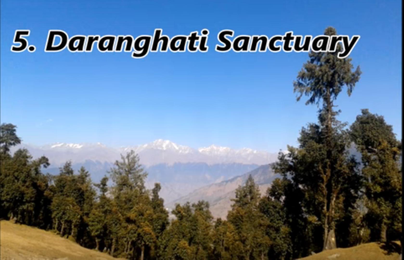 Daranghati sanctuary by tempo traveller