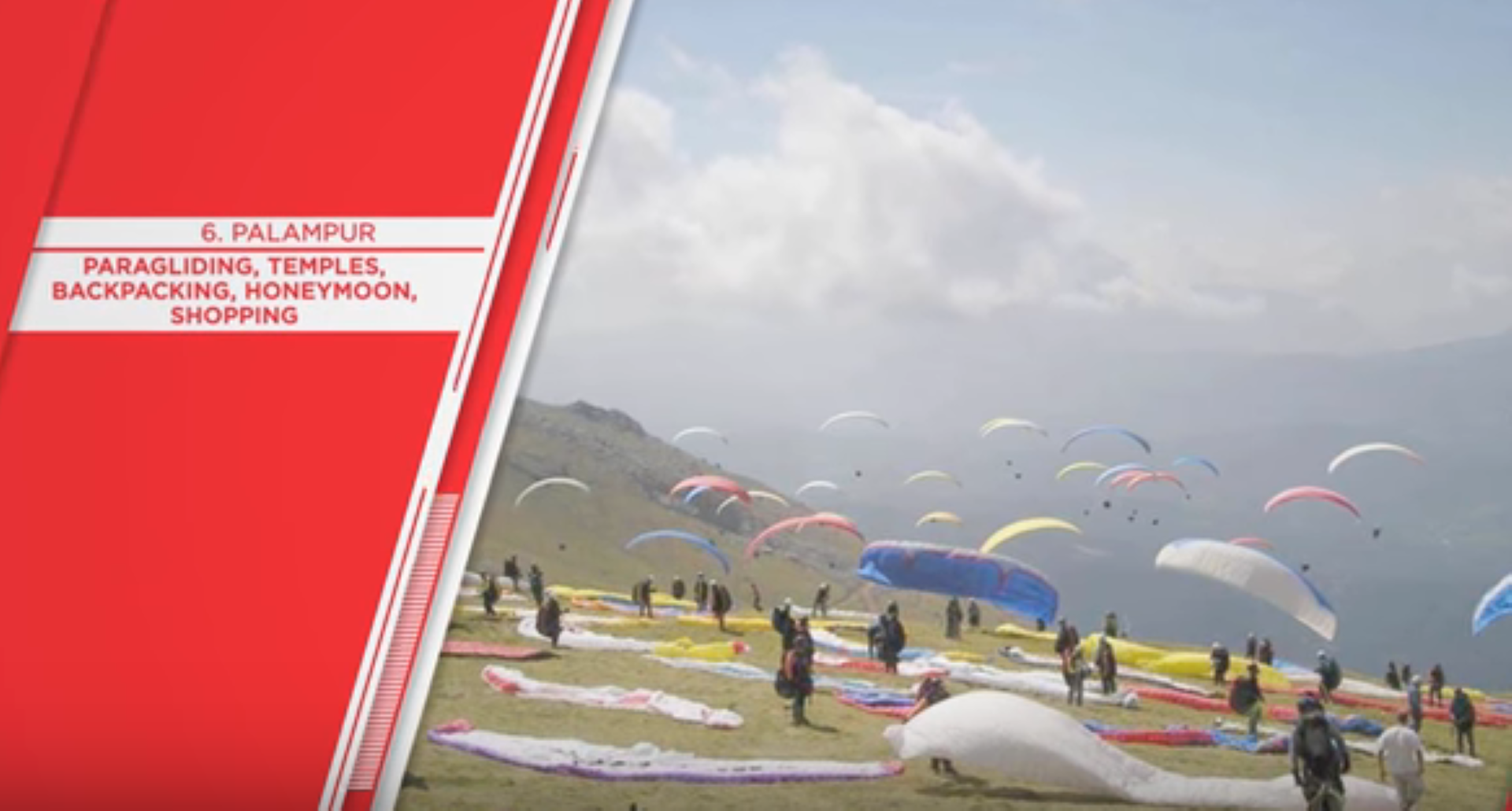 Paragliding tour by tempo traveller