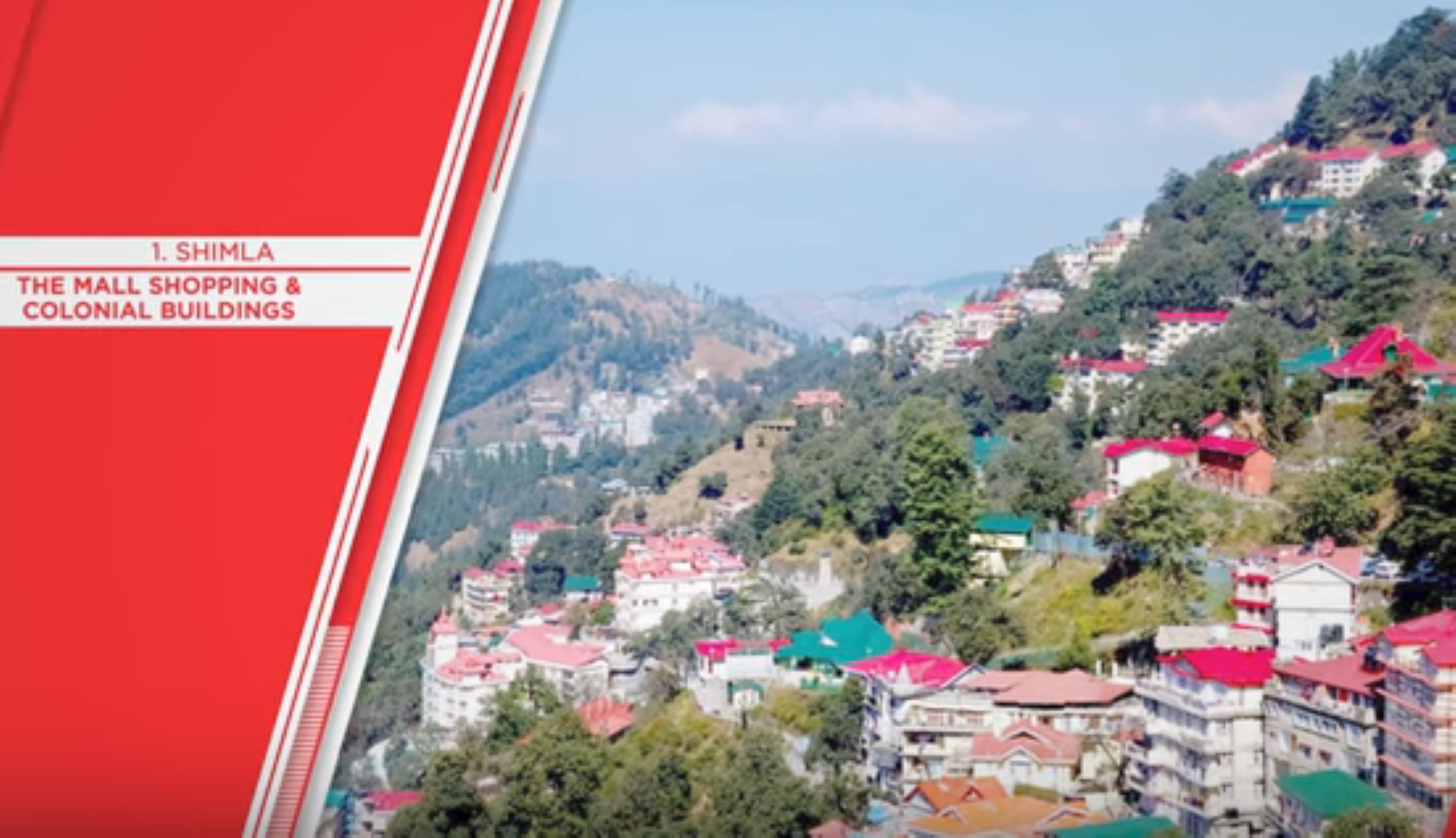 The mall shimla by tempo traveller