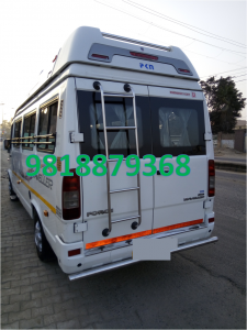 15 seater tempo traveller on rent in delhi