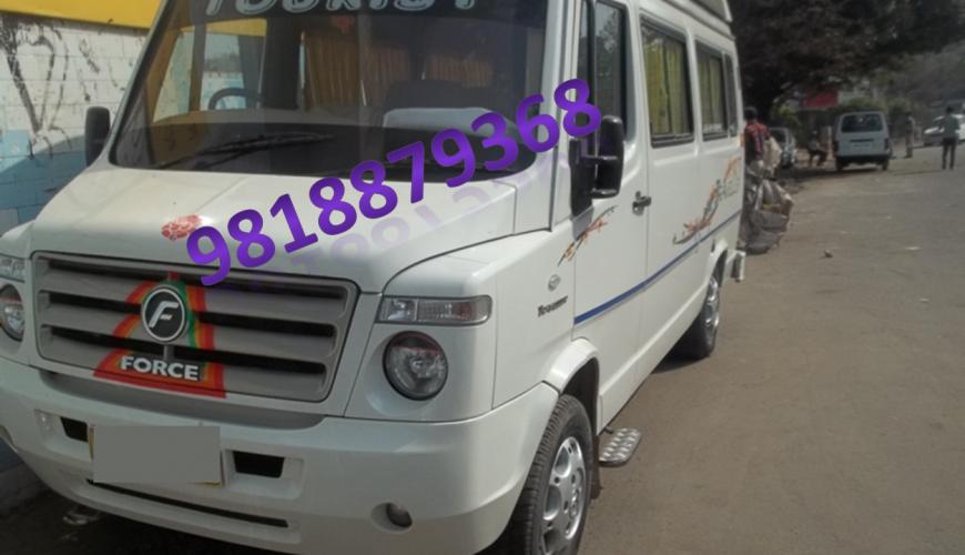 9 Seater Tempo Traveller Luxury