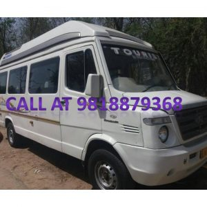 9 seater tempo traveller images