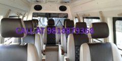 luxury tempo traveller on rent delhi