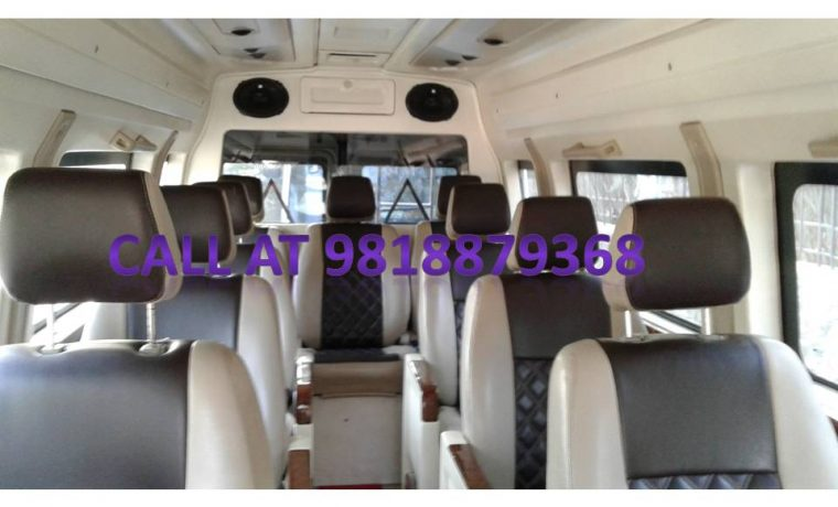 Book your tempo traveller for outstation tours