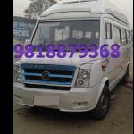 luxury tempo traveller on rent in delhi