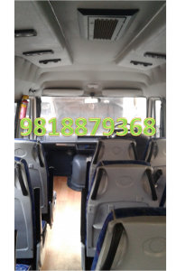 tempo traveller 12 seater rent