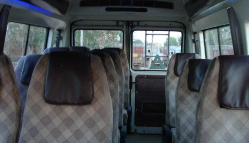 12 seater force tempo traveller
