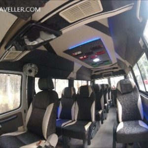 12 seater hire tempo traveller