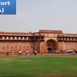 Agra Fort tour by tempo traveller