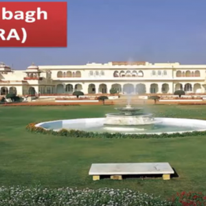Ram Bagh Agra tour by tempo traveller