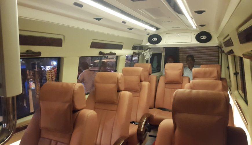 hire tempo traveller in delhi