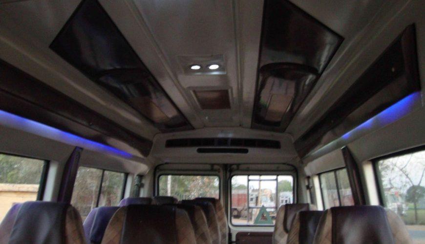 tempo traveller interior 12 seater luxury