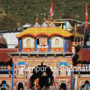 Badrinath Temple tour by tempo traveller