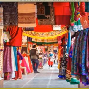 Johari Bazaar Shopping tour by tempo traveller