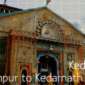 Kedarnath Temple tour by tempo traveller