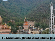 Laxman Jhula Ram Jhula tour by tempo traveller