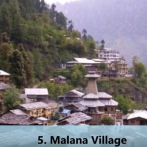 Malana Village tour by tempo traveller