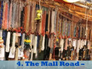 Mall Road tour by tempo traveller
