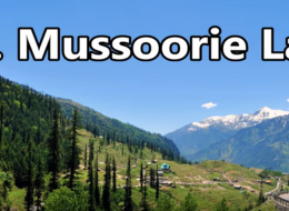 Mussoorie Lake tour by tempo traveller