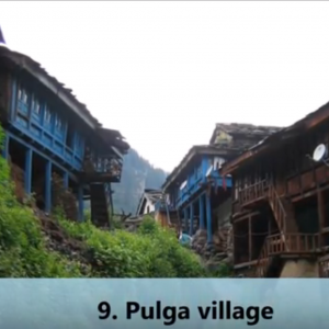 Pulga Village tour by tempo traveller