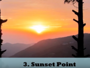 Sunset point tour by tempo traveller