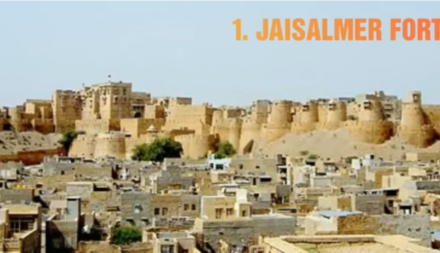 Jaisalmer Fort tour by tempo traveller