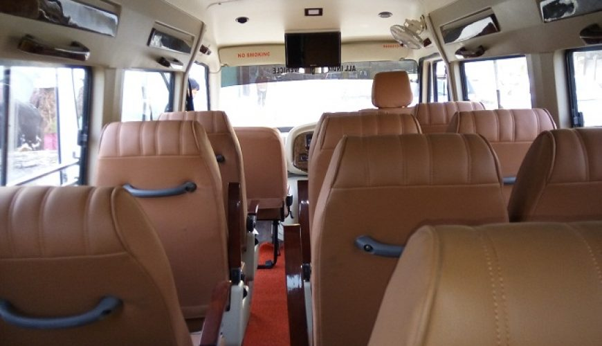 12 seater tempo traveller for booking