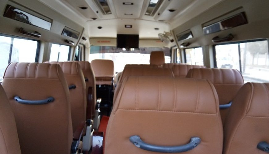tempo traveller 12 seater luxury